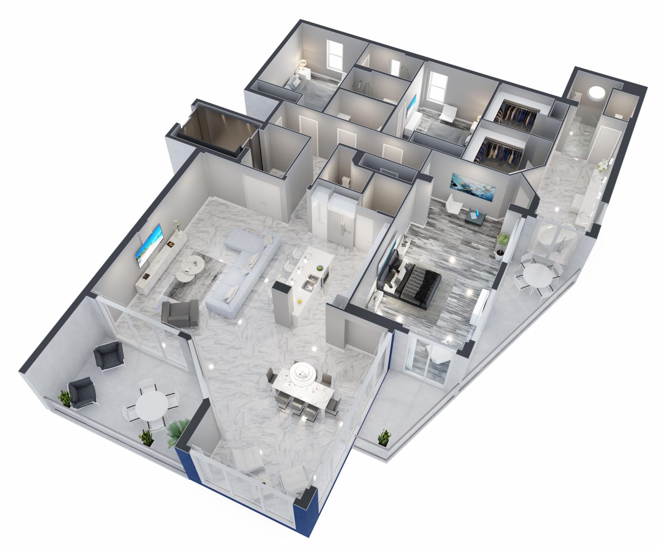 Icaria Floorplan