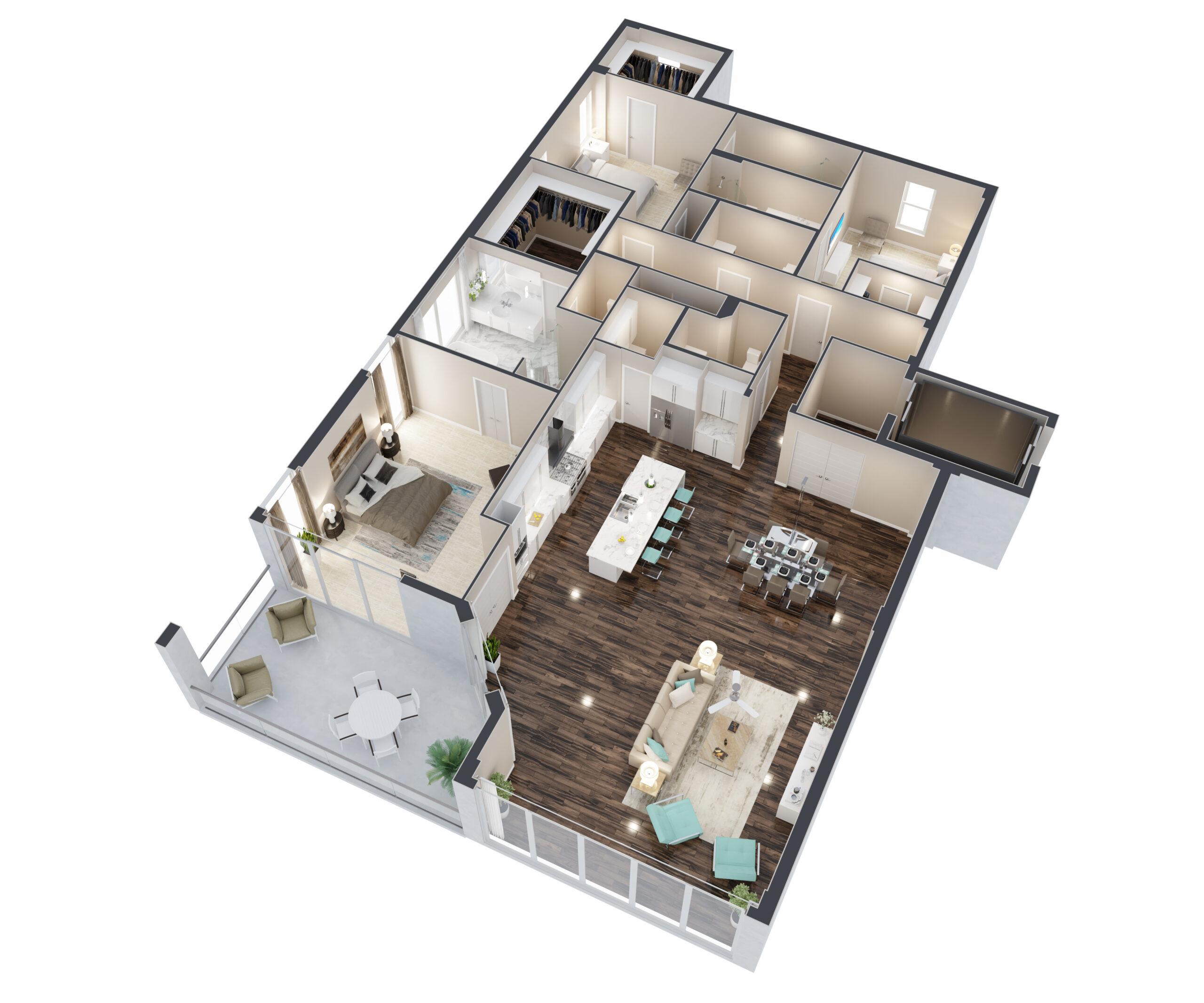 Milos Floorplan