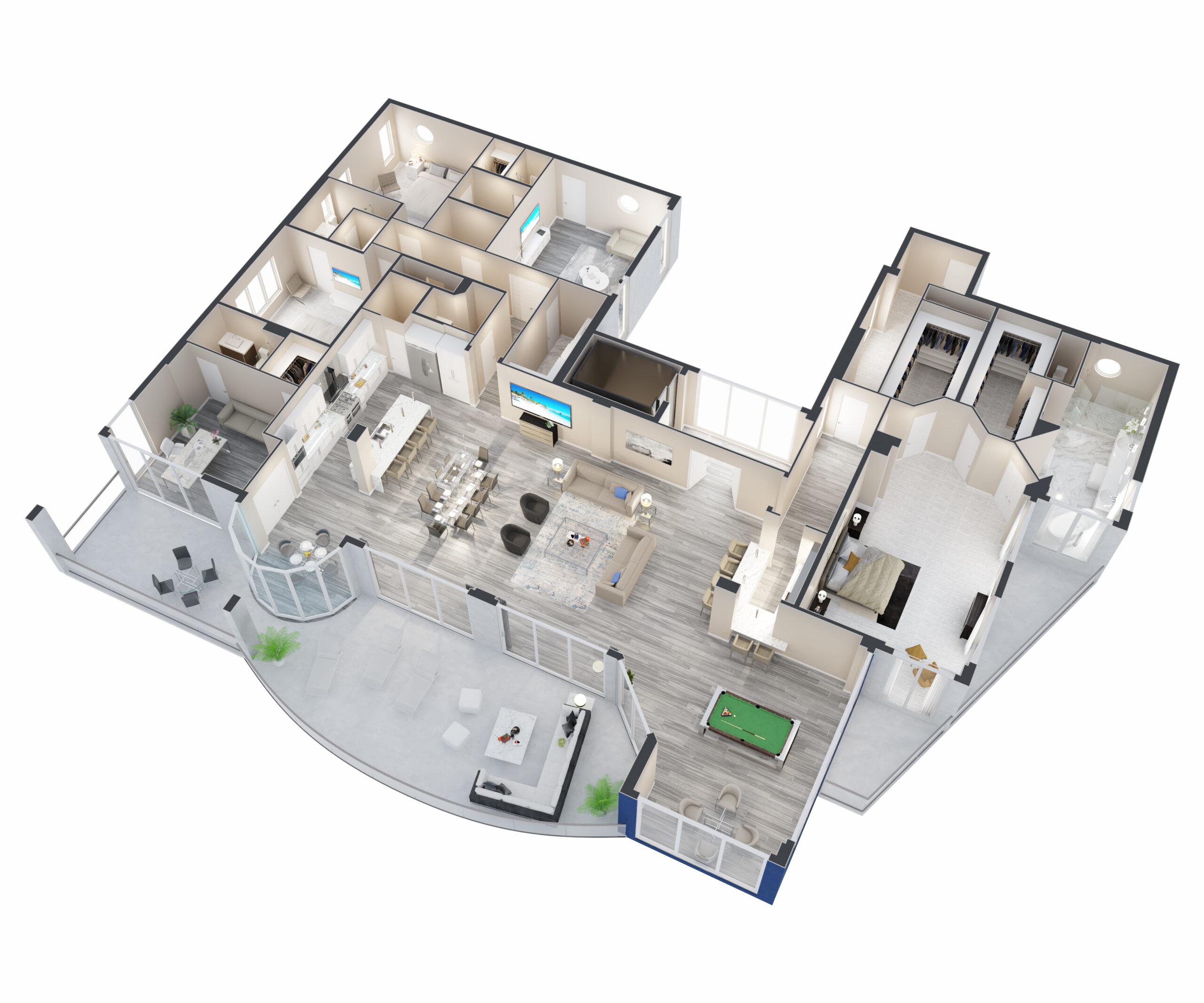 Santorini Floorplan